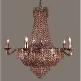 Swarovski Exum 13-Light Candle Style Empire Chandelier Astoria Grand Finish: Roman Bronze, Crystal Type Elements Golden Teak
