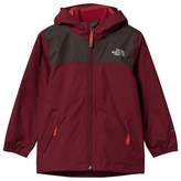 The North Face Red Waterproof Elden Rain Triclimate Jacket