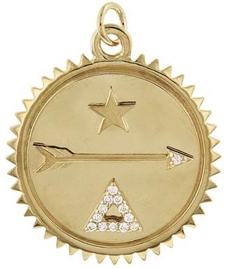 Foundrae Medium Dream Yellow Gold Medallion