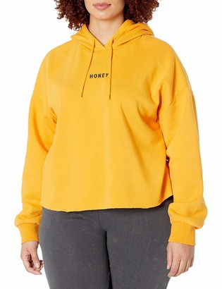 Forever 21 Women's Plus Size Honey Graphic Hoodie