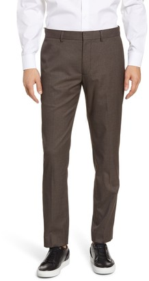 Club Monaco Sutton Slim Fit Houndstooth Check Pants