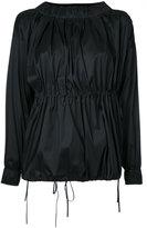08sircus gathered blouse - women - Polyester/Nylon/Polyurethane - 1