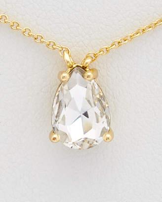 Rebecca Minkoff Crystal Teardrop Necklace