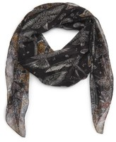 Alexander McQueen Women's Wildflower Flight Silk Scarf