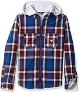 GUESS Boy's L73H04W8N40 Casual Shirt