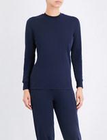 Sunspel Round-neck cotton-jersey sweatshirt