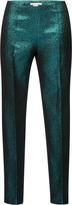 Antonio Berardi Metallic Lurex Trousers