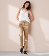 LOFT Lou & Grey Drawstring Crop Pants