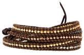 Chan Luu Multicolor Nugget Bead Wrap Bracelet
