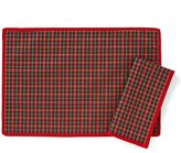Lenox Holiday Nouveau Joyful Plaid Table Linens