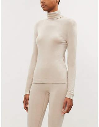 Hanro Turtleneck silk and cashmere-blend jumper