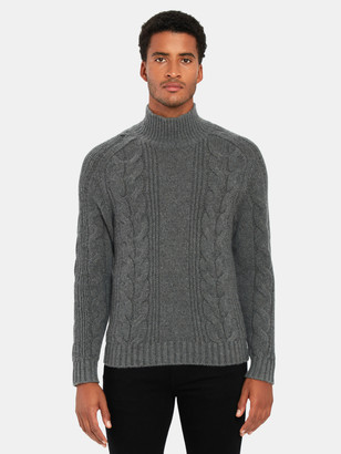 Vince Wool Cashmere Cable Knit Sweater
