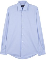 Pal Zileri Light Blue Cotton Shirt