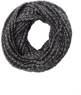 Charlotte Russe Metallic Knit Infinity Scarf