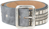 Calleen Cordero Serape 1.75 belt - women - Leather/Nickel - 80