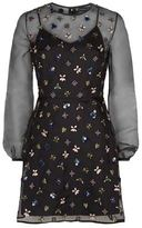 Markus Lupfer Embellished Bumble Bee Dress