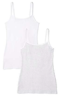 Iris & Lilly BELK024_M2 Vest,(Size:2XL), Pack of 2