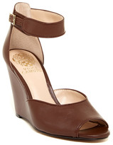 Vince Camuto Marine Ankle Strap Wedge Sandal