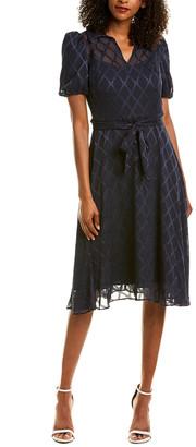 Maggy London Burnout Mini Dress