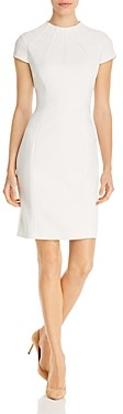 Elie Tahari Freida Cap-Sleeve Dress