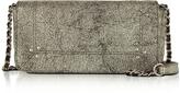 Jerome Dreyfuss Bob Laminated Leather Mini Shoulder Bag