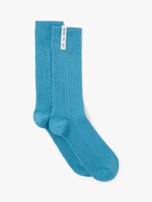 It's All Good Folk Plain Textured Socks