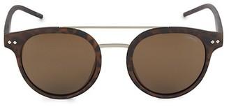 Polaroid 49MM Aviator Sunglasses