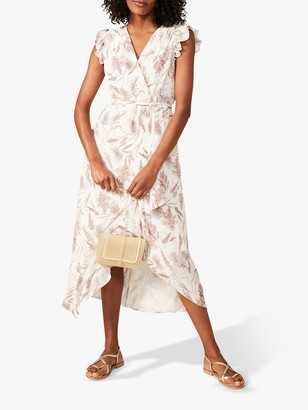 Phase Eight Nicole Floral Dress, Taupe