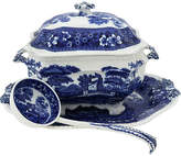 One Kings Lane Vintage Copeland Spodes Tower Soup Tureen - 3 Pc