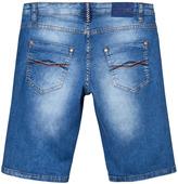 Mayoral Blue Dark Wash Denim Shorts
