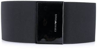 Emporio Armani Elasticated Logo Belt