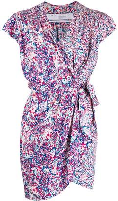 IRO Abstract Print Short Dress