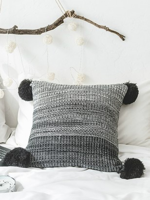 Goodnight Macaroon 'River' Gradient Pom Pom Cushion Cover (2 Colors)