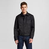 Mossimo Men's Coated Trucker Jacket Black