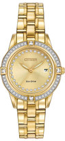 Citizen 29mm Bracelet Watch w/ Crystal Bezel