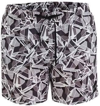 Fendi Cubic Eyes swim trunks