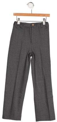 Oscar de la Renta Boys' Wool Three Pocket Pants w/ Tags