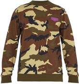 Givenchy Camouflage-print cotton sweatshirt