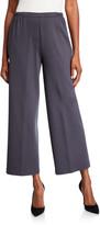 Caroline Rose Petite Ponte Easy Crop Pants