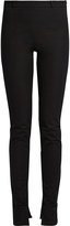 Roland Mouret Mortimer skinny-leg cotton-blend trousers