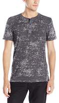 Buffalo David Bitton Men's Nifop Short Sleeve Henley Shirt