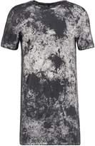 Delusion Acute Print Tshirt Black Snow