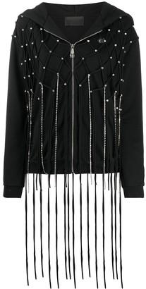 Philipp Plein Fringe Detail Jacket