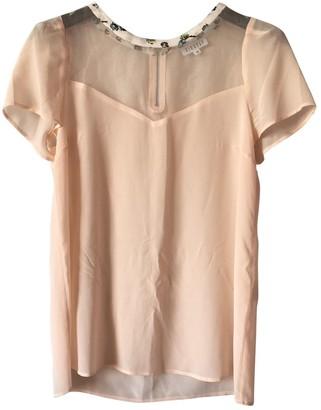 Claudie Pierlot Pink Silk Tops