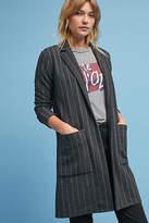 Harlyn Pinstripe Longline Jacket