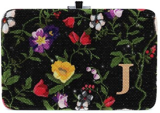 Judith Leiber Couture Morning Glory Slim Slide Customizable Monogram bag