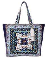 Steve Madden Colleen Aztec-Print Canvas Tote