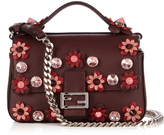 Fendi Double Micro Baguette Flowerland cross-body bag