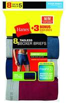Hanes Red Label Men's Freshiq Exposed Waistband Boxer Briefs (5-Pack + 3 Free)