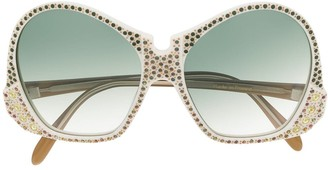 Emilio Pucci Pre Owned 1970s Maharaja sunglasses